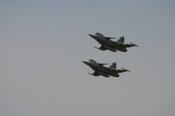 Saab Gripen stíhačka czech air force