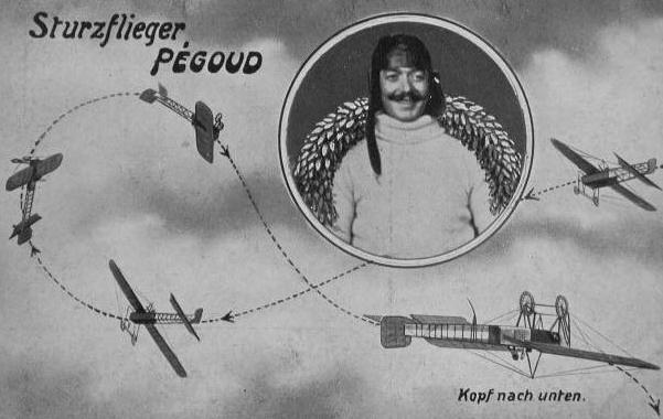 francouzský pilot Adolphe Pégoud
