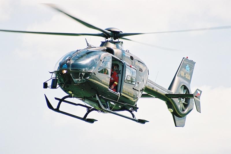 vrtulník Eurocopter
