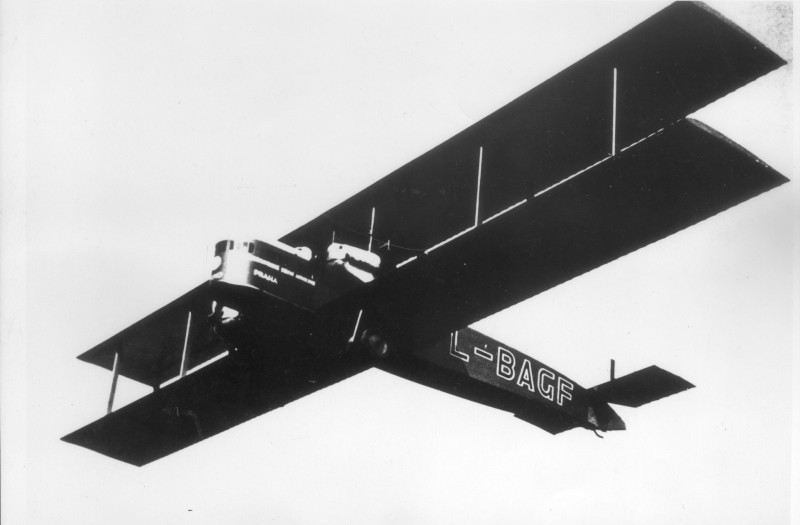 Letov Goliáš licenční Farman Goliath