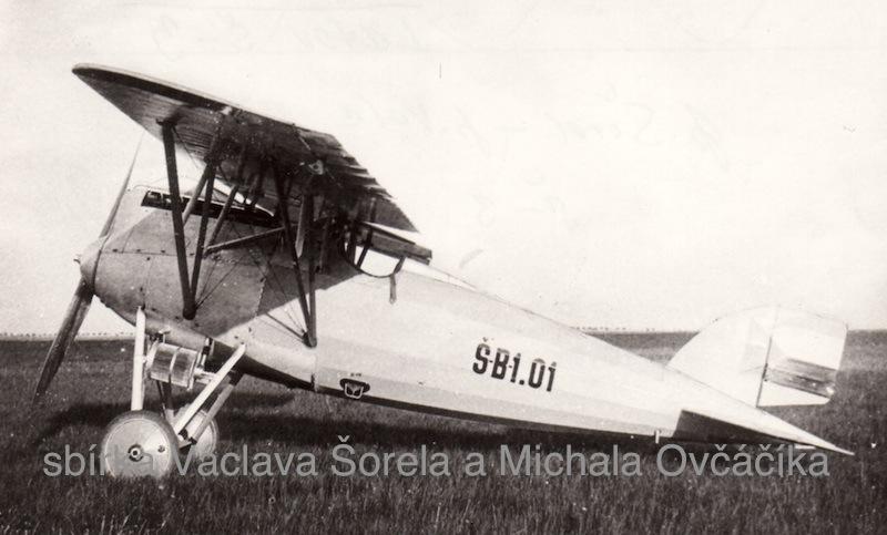 prototyp stíhacího letounu Letov Š 3
