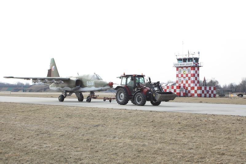 Suchoj Su 25 české vojenské letectvo