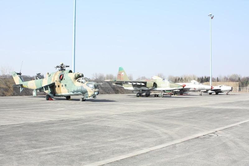 Bitevní vrtulník Mi 24 v Hradci
