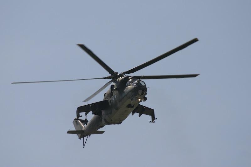 Mil Mi 24 letectvo české republiky