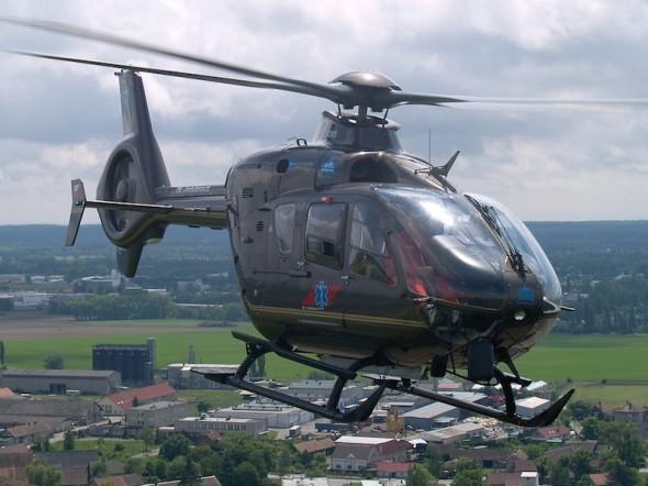 záchranářský Eurocopter EC 135