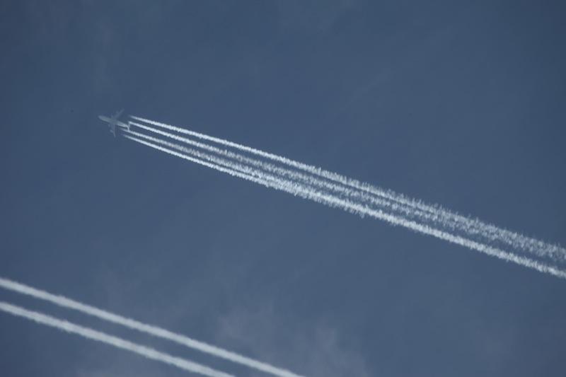 přílety dopravních letadel