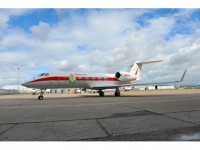 Honeywell Transatlantic Biofuel Flight Arrival