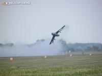 havárie historického letadla