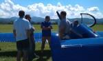 piloti na Mistrovství Evropy v letecké akrobacii