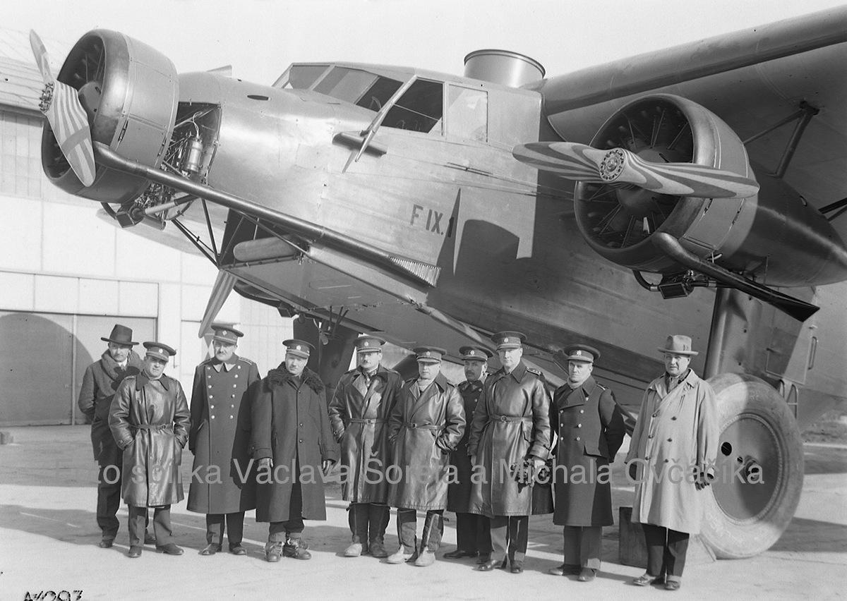 předání letounu v Letňanské Avii