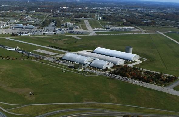 letecké muzeum USA Wright - Patterson