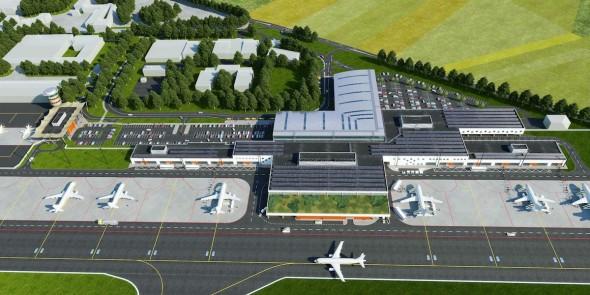 letiště vodochody nové