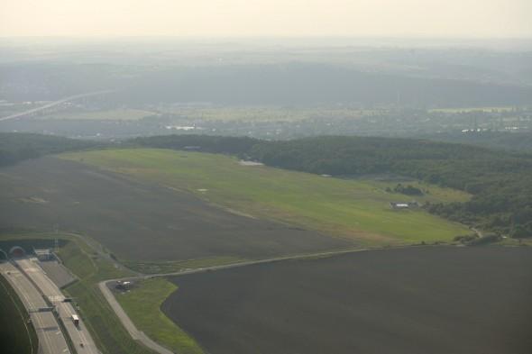 zachráněné letiště