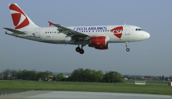 střednětraťový letoun České aerolinie