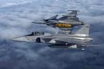 stíhací Saab Gripen