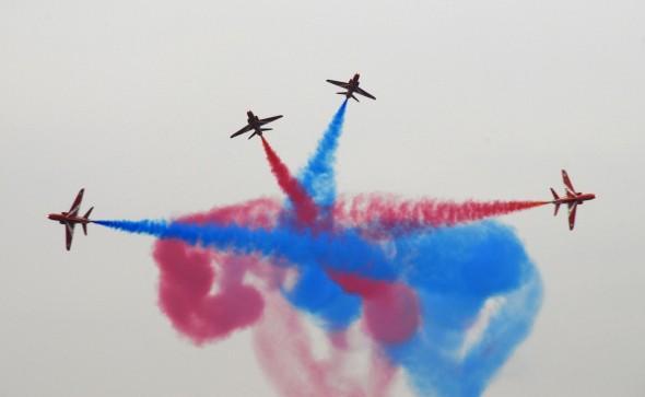 akrobatická skupina RAF