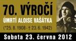 výročí smrti Aloise Vašátka