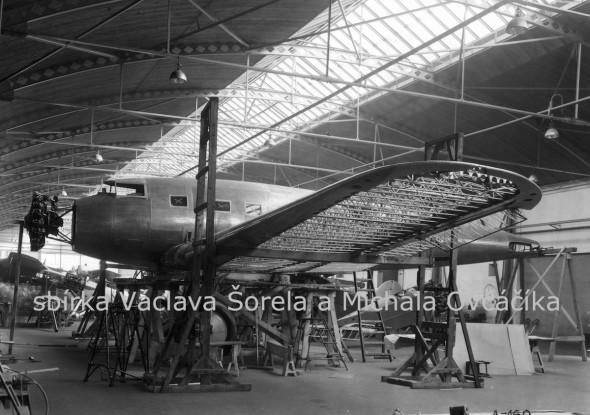 továrna na letadla Avia Praha Letňany