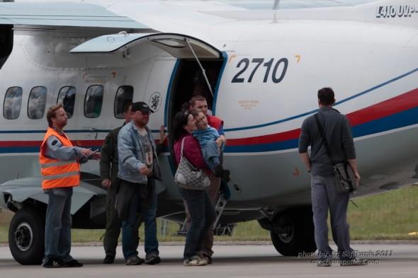 létání pro tělesně postižené v Hradci Králové