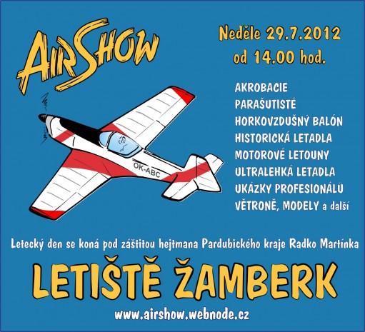 Air Show Žamberk 2012