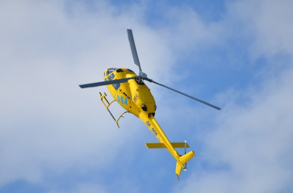 vrtulník DSA Dan Tuček pilotinfo