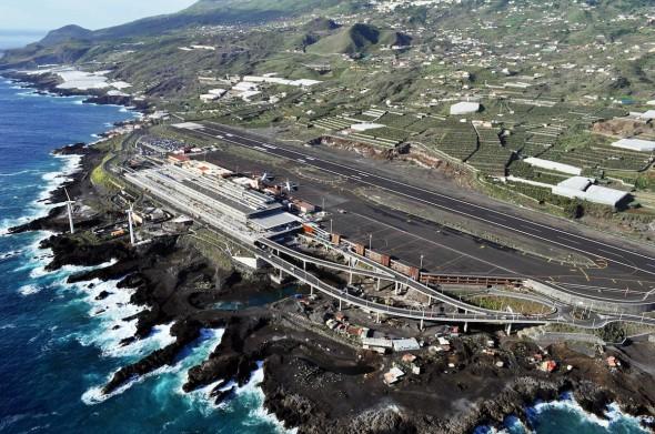 Řízení letového provozu na letišti na Kanárských ostrovech