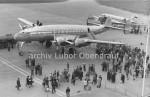 Lockheed Constellation na letišti Praha Ruzyně