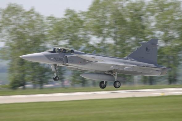 JAS 39 Gripen pilotinfo