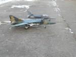 model MiGu 23 ML vedle modelu Aero L 159