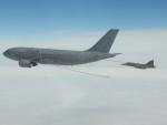 Gripen Czech Air Force refueling from Luftwaffe