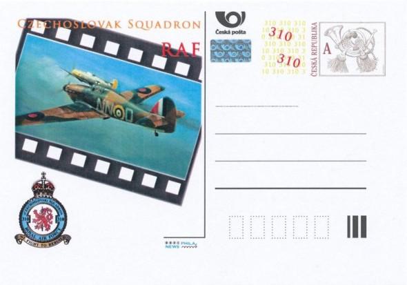 pohlednice RAF
