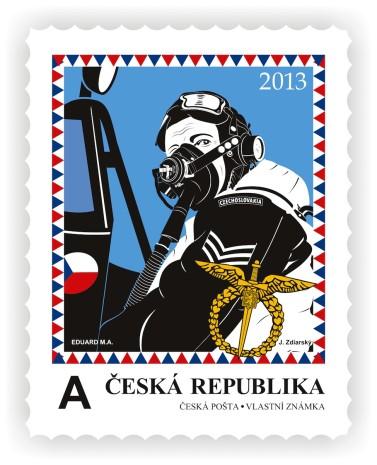 poštovní známka naši se vracejí