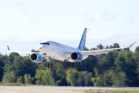 CS 100 první let