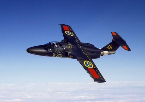 cvičný Saab 105