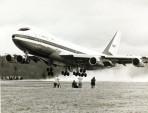 První vzlet B747 očima kamer