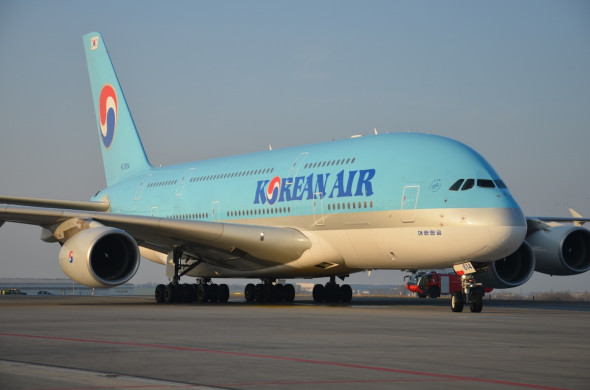 Airbus A 380 Korean Air LKPR