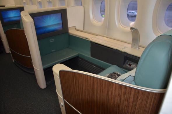 Airbus A 380 Korean Air - první třída