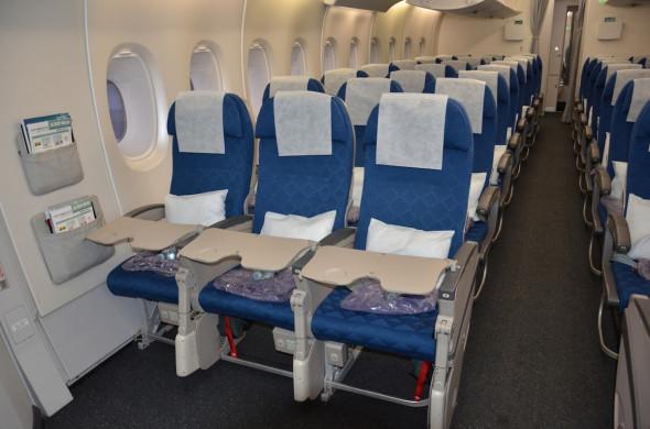 Airbus A 380 Korean Air - ekonomická třída