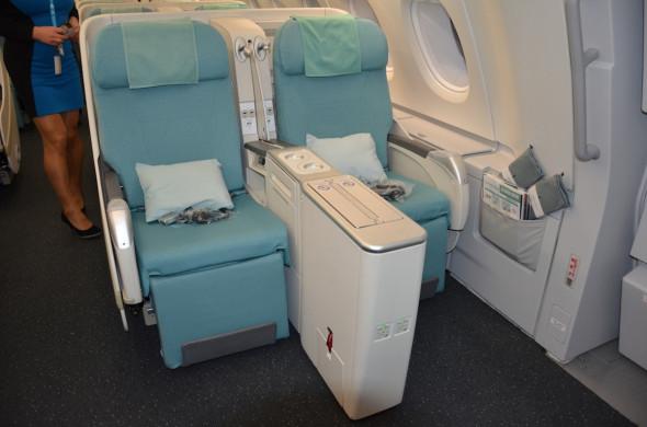 Airbus A 380 Korean Air - obchodní třída