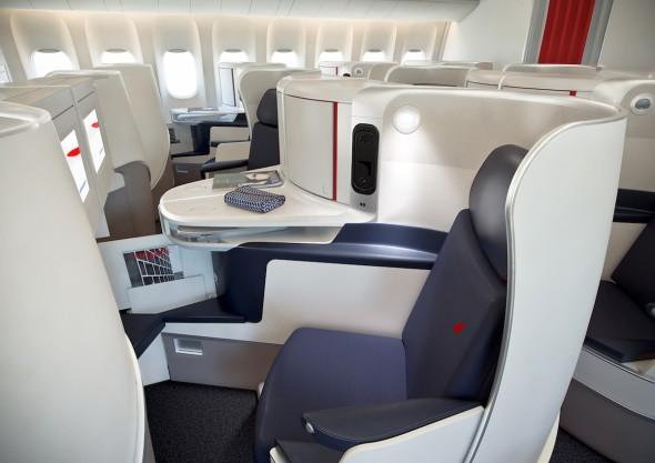 Nové sedadla pro cestující Air France