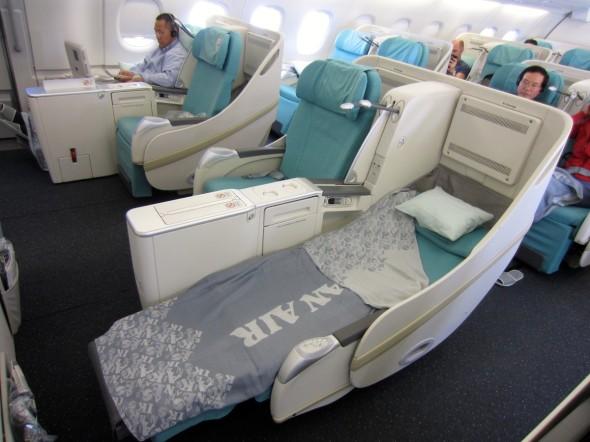 První třída A380 Korean Air , foto Korean Air