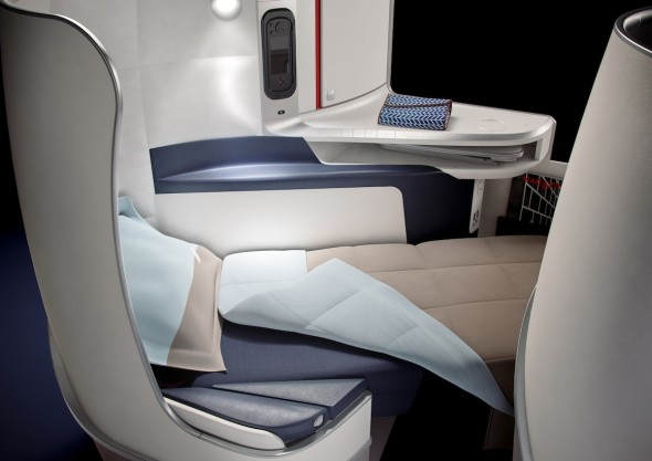 Sedadlo Air France pro spaní