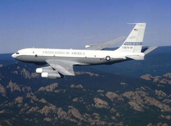 Boeing OC 135B Open skies