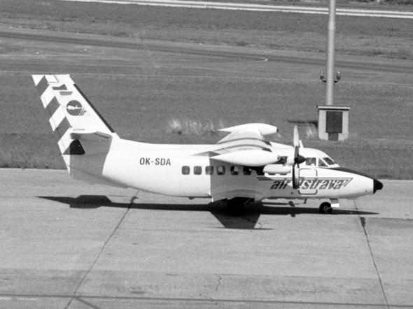 L 410 UVPE Air Ostrava v Praze