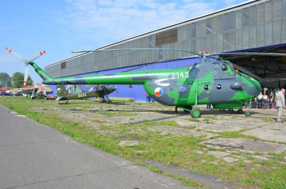 Mil Mi 4B letecke muzeum Kbely