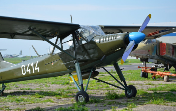 Orlican XL 160 s vyzbroji letecke muzeum Kbely