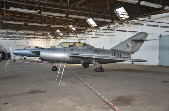 Thunderjet a MiG 15 UTI Stara Aerovka VHU