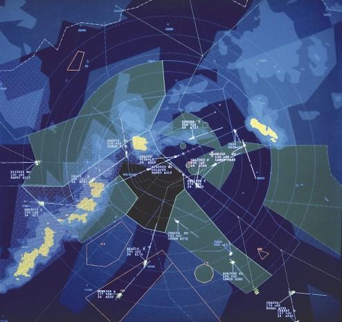 náhled letové mapy ŘLP