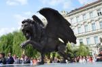 Odhalení pomníku Winged Lion 004