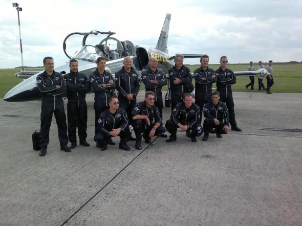 Breitling Jet Team na LKVO 001